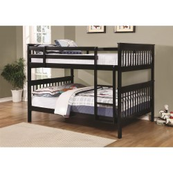 Traditional Full over Full Bunk Bed